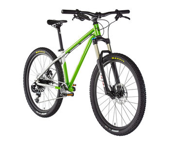 "Early Rider Hellion Trail MTB Hardtail 24"" Kids, brushed aluminum/lime (2019"