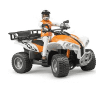 Bruder 63000 - Quad met bestuurder