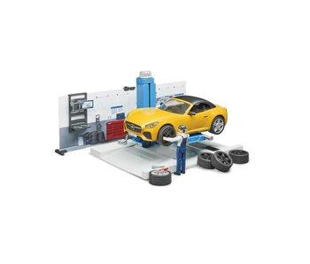 Bruder Auto Service Werkplaats 62110