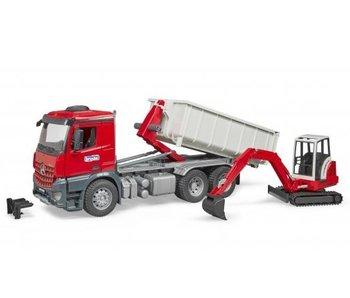 Bruder Vrachtwagen Met Container 03624