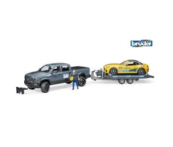 Bruder RAM 2500 Auto Met Lader 02504