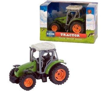 Dutch Farm Serie Tractor groen 1:32