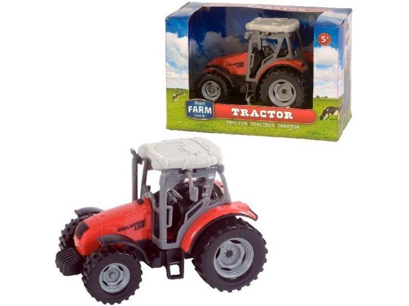 Dutch Farm Serie Tractor Rood 1:32