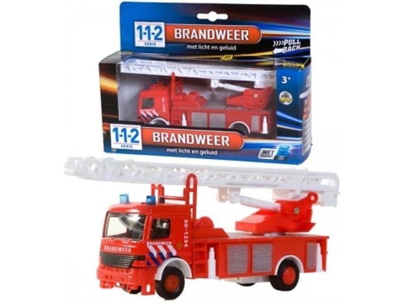 112 Serie Brandweer met licht en geluid 1:43