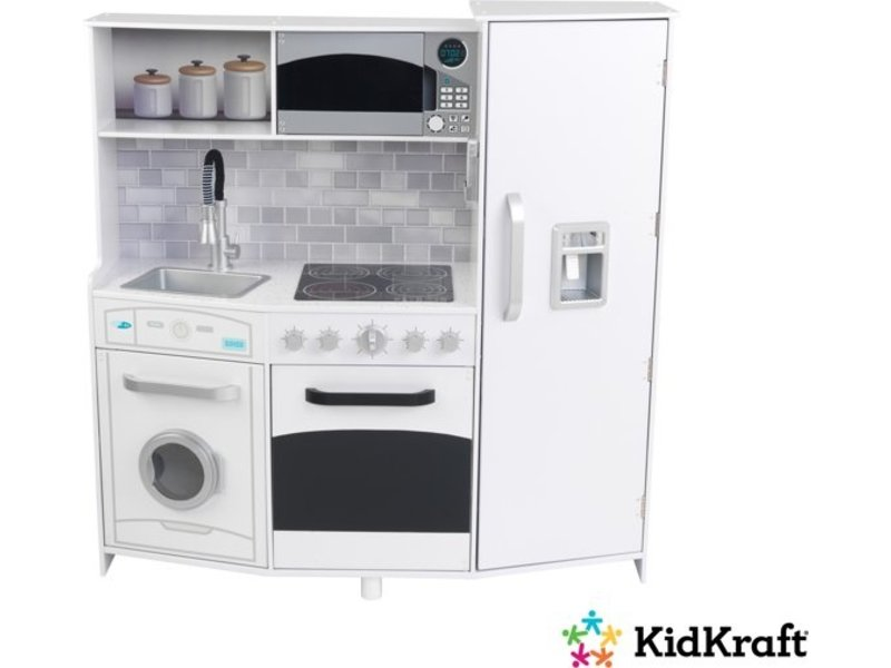 KidKraft  Large Play Kitchen  White speelkeuken