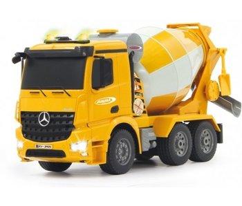 Jamara Mercedes Arocs betonmixer 2,4Ghz 1:20 Bestuurbare vrachtwagen