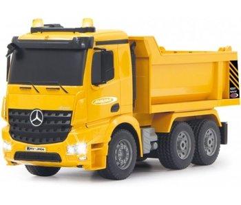 Jamara Mercedes Arocs kiepwagen2,4Ghz 1:20 Bestuurbare Vrachtwagen