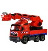 Polesie brandweerwagen Volvo rood 58 cm