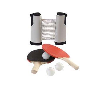 SportX Tafeltennisset + 2bats