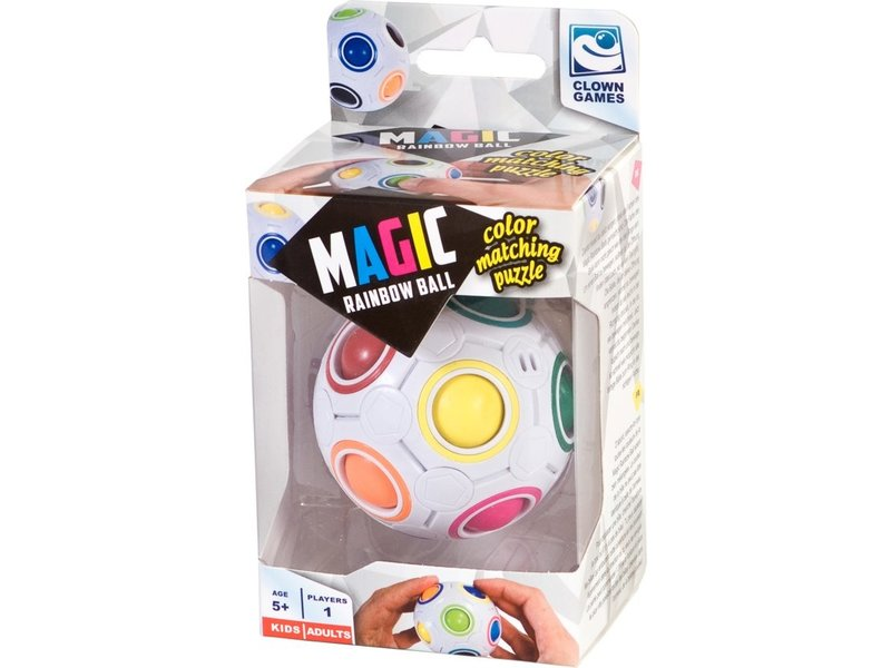 Magic Puzzel Clown Games Magic Rainbow Ball