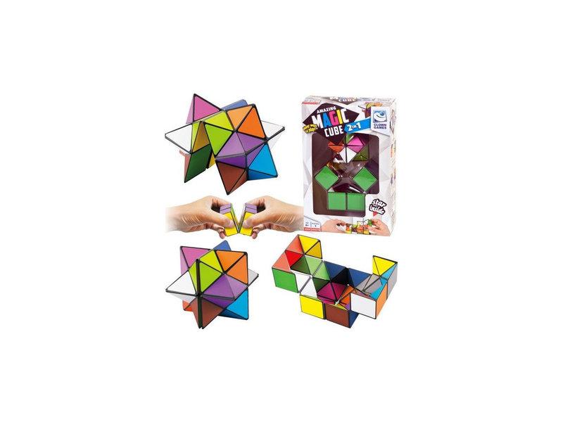 Magic Puzzel Cube 2 in 1