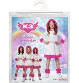 K3 verkleedjurk dromen 6 tot 8 jaar
