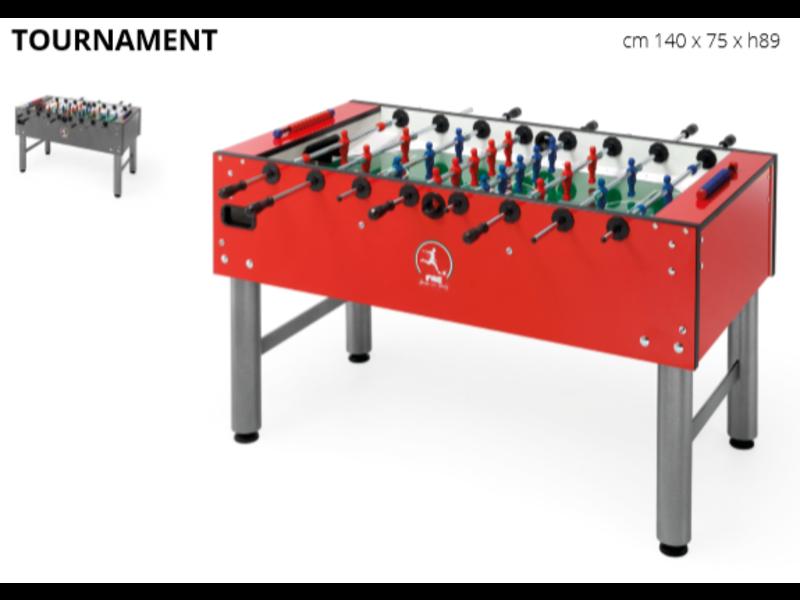 FAS Wedstrijd Voetbaltafel Tournament 1.0 PS Rood