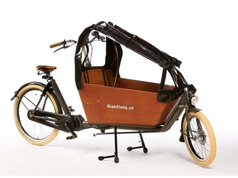 Bakfiets.nl Regentent CargoBike Long All Open