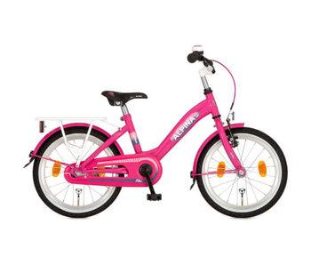 Alpina Girlpower Candy Pink  16 of 18 Inch Meisjesfiets