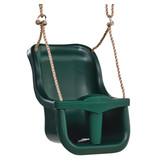 Babyzitje 'luxe' groen/groen