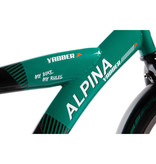 Alpina Yabber Jungle Black-Bright Green jongensfiets