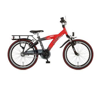 Alpina Yabber J20/22 Traffic Red Matt - Industrial Black Matt