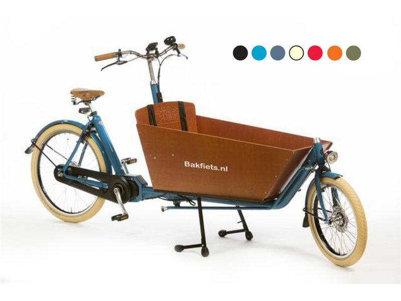 Bakfiets.nl  CargoBike Cruiser Long Steps Elektrisch
