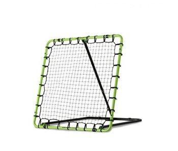 EXIT Tempo Rebounder 120x120 - Voetbalgoal - Groen/zwart