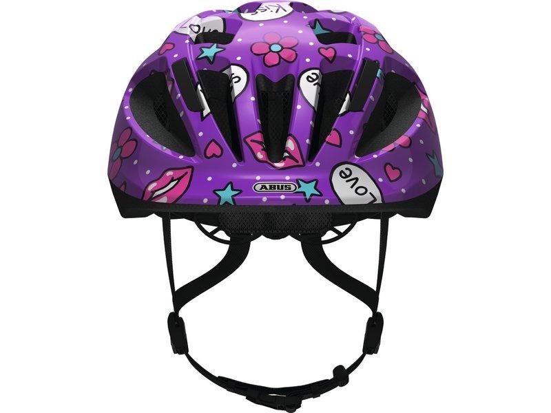 ABUS Smooty 2.0 Purple Kisses kinderhelm