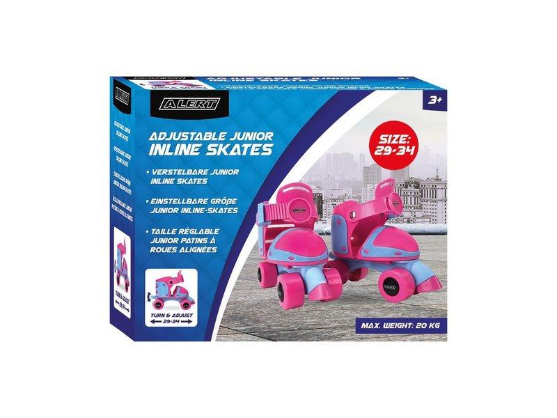 Alert Roller Skates 29-34 Roze