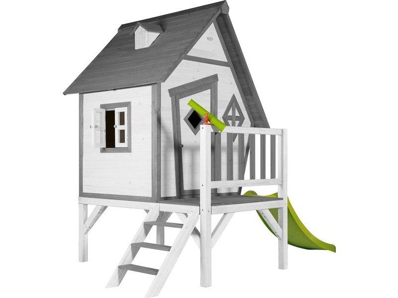 Axi Cabin XL Speelhuis Grijs/wit
