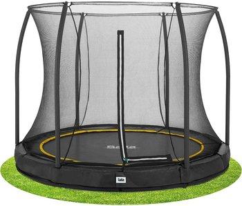 Salta Comfort Edition Ground Trampoline met Veiligheidsnet - 213 cm - Zwart