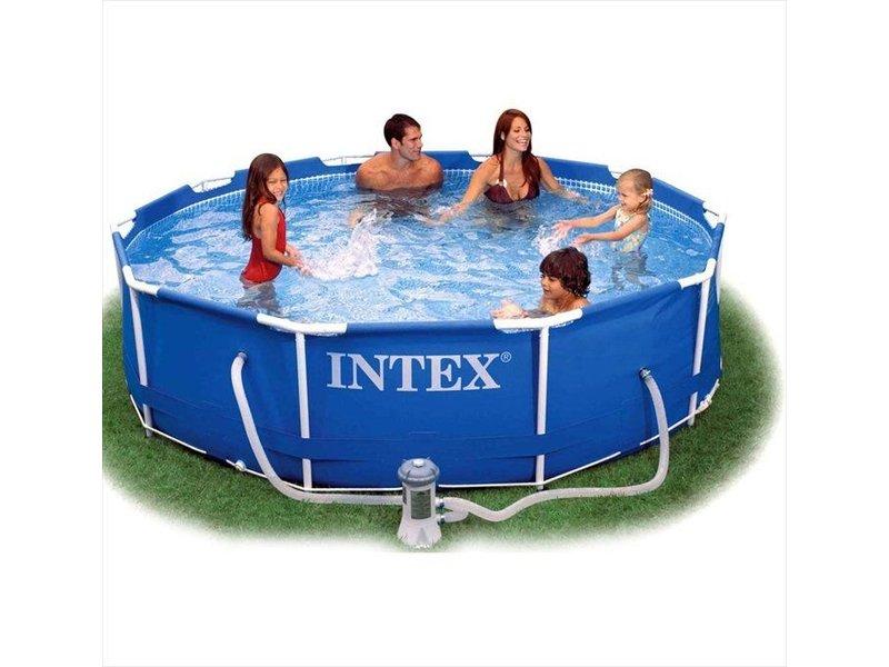 Intex Metalen Frame zwembad 305 x 76 cm