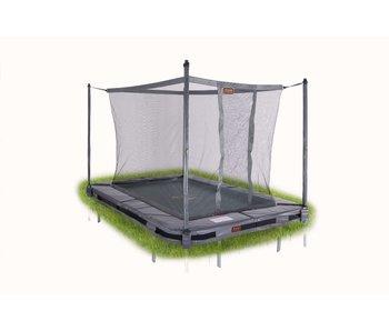 Avyna Pro-Line 215x155 InGround trampoline met net, grijs