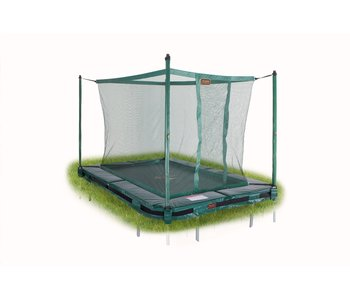 Avyna Pro-Line 215x155 InGround trampoline met net, groen