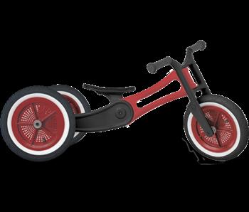 Wishbone loopfiets 3 in 1 bike Recycled Rood