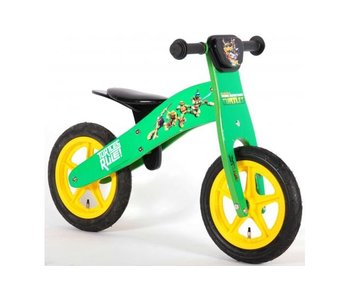 Turtles Teenage Mutant Ninja Houten 12 inch loopfiets groen