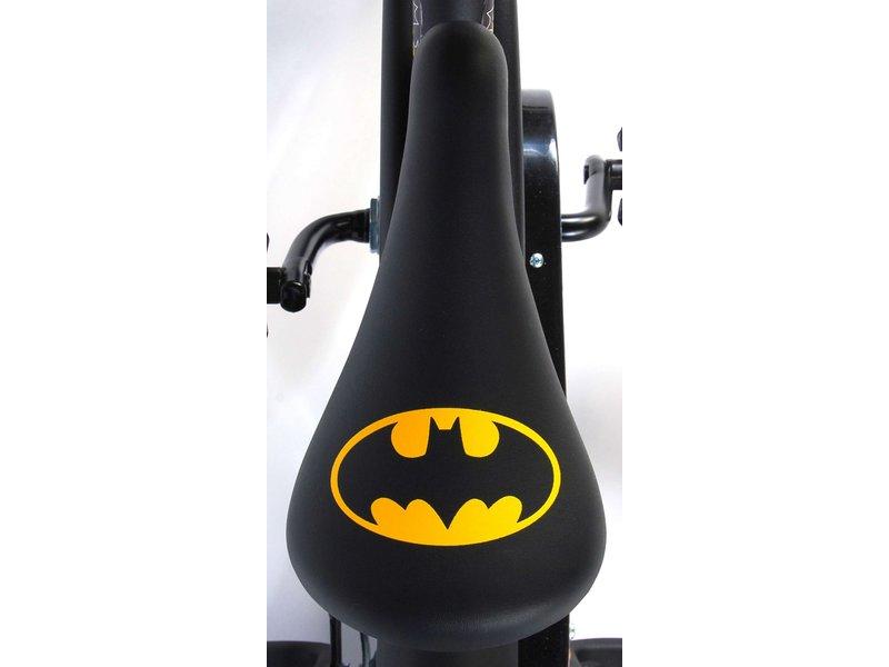 Volare Batman 12 inch jongensfiets zwart