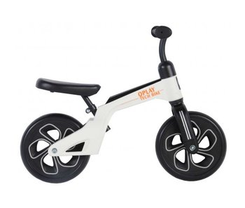Q-Play Tech 10 inch loopfiets wit