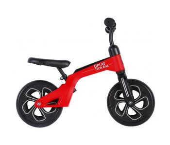 Q-Play Tech 10 inch loopfiets rood