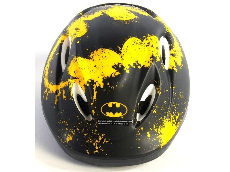 Volare Batman Fietshelm Skatehelm 51-55 cm zwart