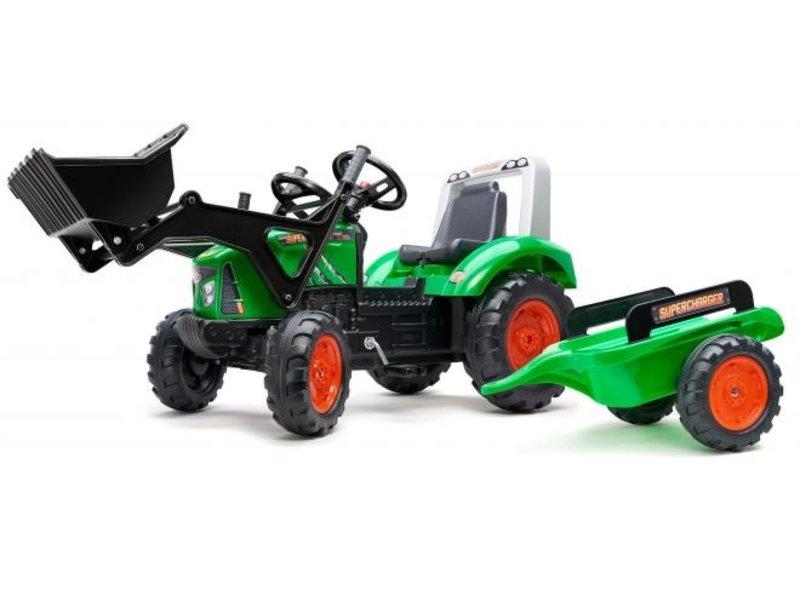Falk Supercharger Traptractor groen