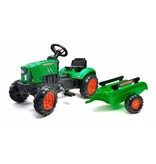 Falk Supercharger Traptractor groen