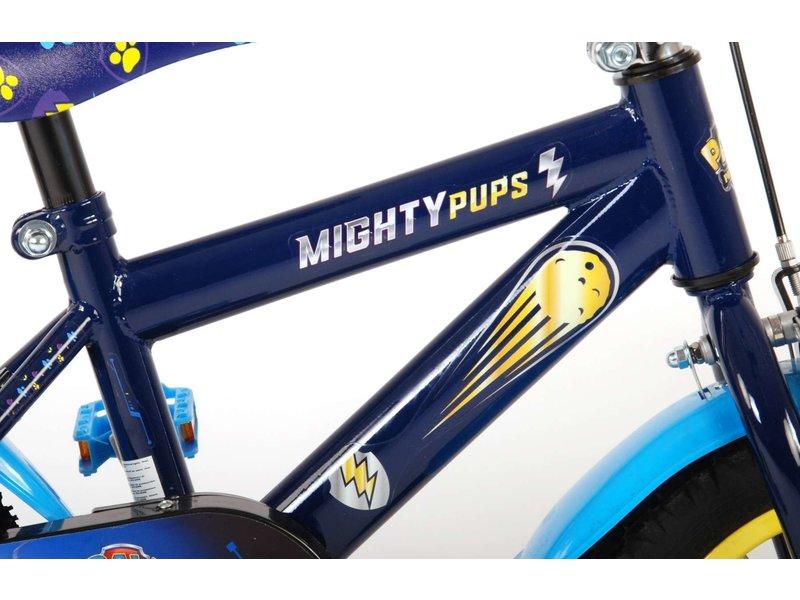 Paw Patrol Mighty Pups 12 inch jongensfiets blauw