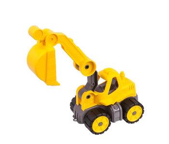 BIG power worker mini digger