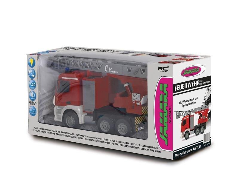 Mercedes Antos brandweer 2,4GHz 1:20 van Jamara
