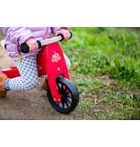 Kinderfeets Tiny Tot Cherry Red Loopfiets