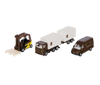 Siku 6324 UPS logistiek set ± 1:87