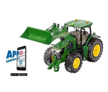 Siku 6792 John Deere 731R met voorlader en Bluetooth App 1:32