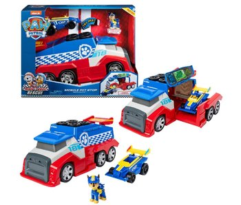 Paw Patrol Race Rescue Mobile Pit Stop Vehicle