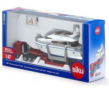 Siku Zwaartransport met jacht