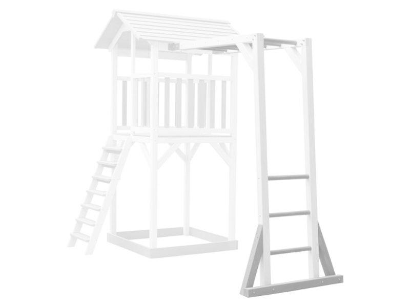 Axi Beach Tower klimrek (grijs/wit)
