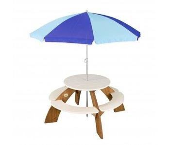 Axi Orion picknicktafel met parasol