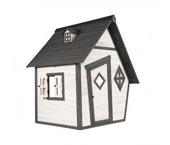 Axi Speelhuis Cabin (grijs/wit)